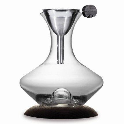 Набор для вина стеклянный на деревянном основании (SD-1), 2 пр.
