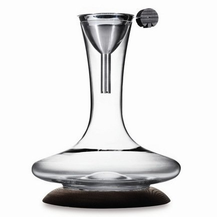 Набор для вина стеклянный на деревянном основании (SD-2), 2 пр.