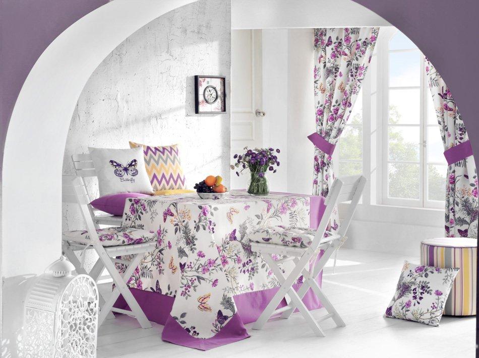 "Подушка на стул ""Butterfly"", 41х41 см, разноцветная от Superposuda"