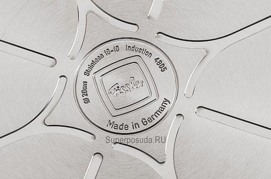 Кастрюля Солеа, 24 см (5.1 л), матовая, толщина дна 12 мм от Superposuda