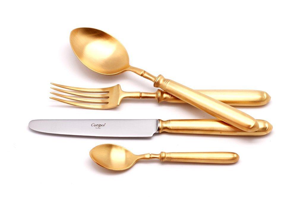 Набор столовых приборов Mithos gold, матовые, 24 пр. от Superposuda