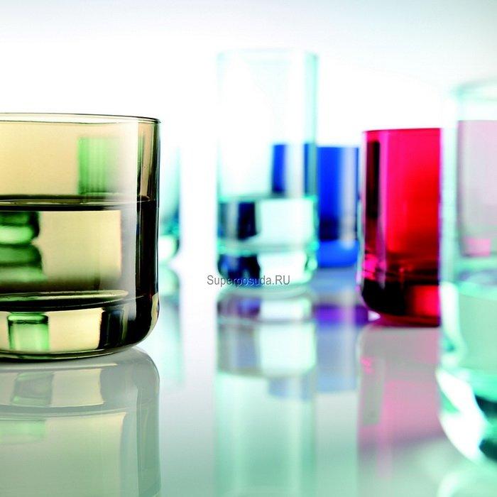 Набор стаканов для виски Spots (285 мл), красные, 6 шт. от Superposuda