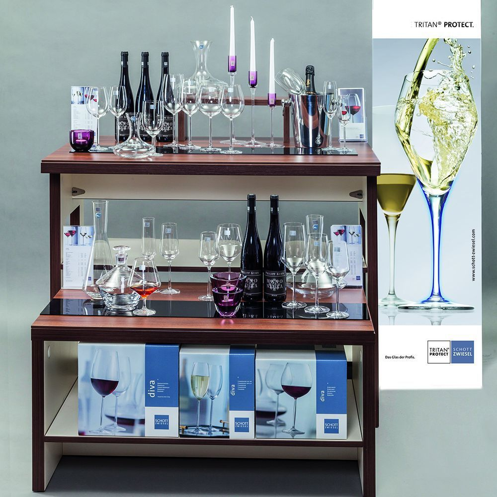 Набор фужеров для красного вина Diva (460 мл), 2 шт. от Superposuda