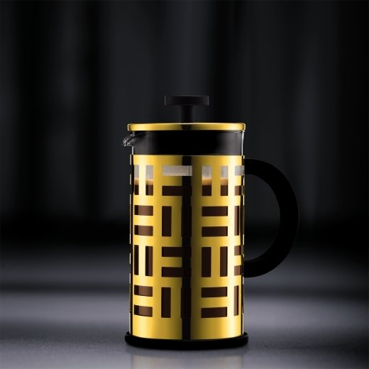 Кофейник с прессом Eileen (0.35 л), черный, 13х8х15.8 см от Superposuda